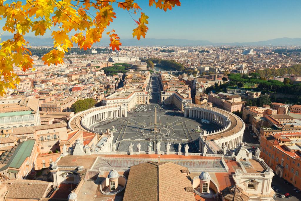 Canva – Saint Peter's Square, Vatican, Rome, Italy