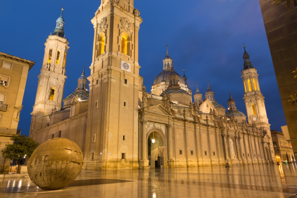 Canva – Zaragoza – The cathedral Basilica del Pilar