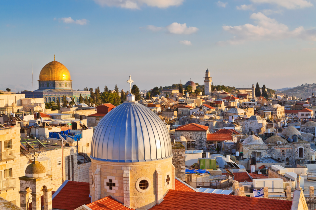 Canva – view on n rooftops of Old City of Jerusalem